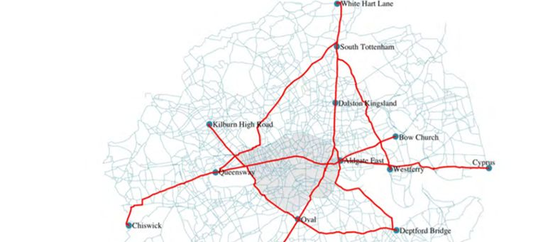 Identifying and Characterising Active Travel Corridors for London in Response to COVID-19