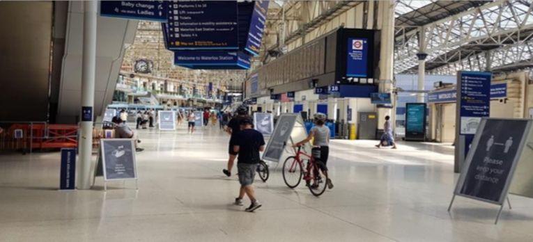 Social distancing and public transport: Transport User Panel survey